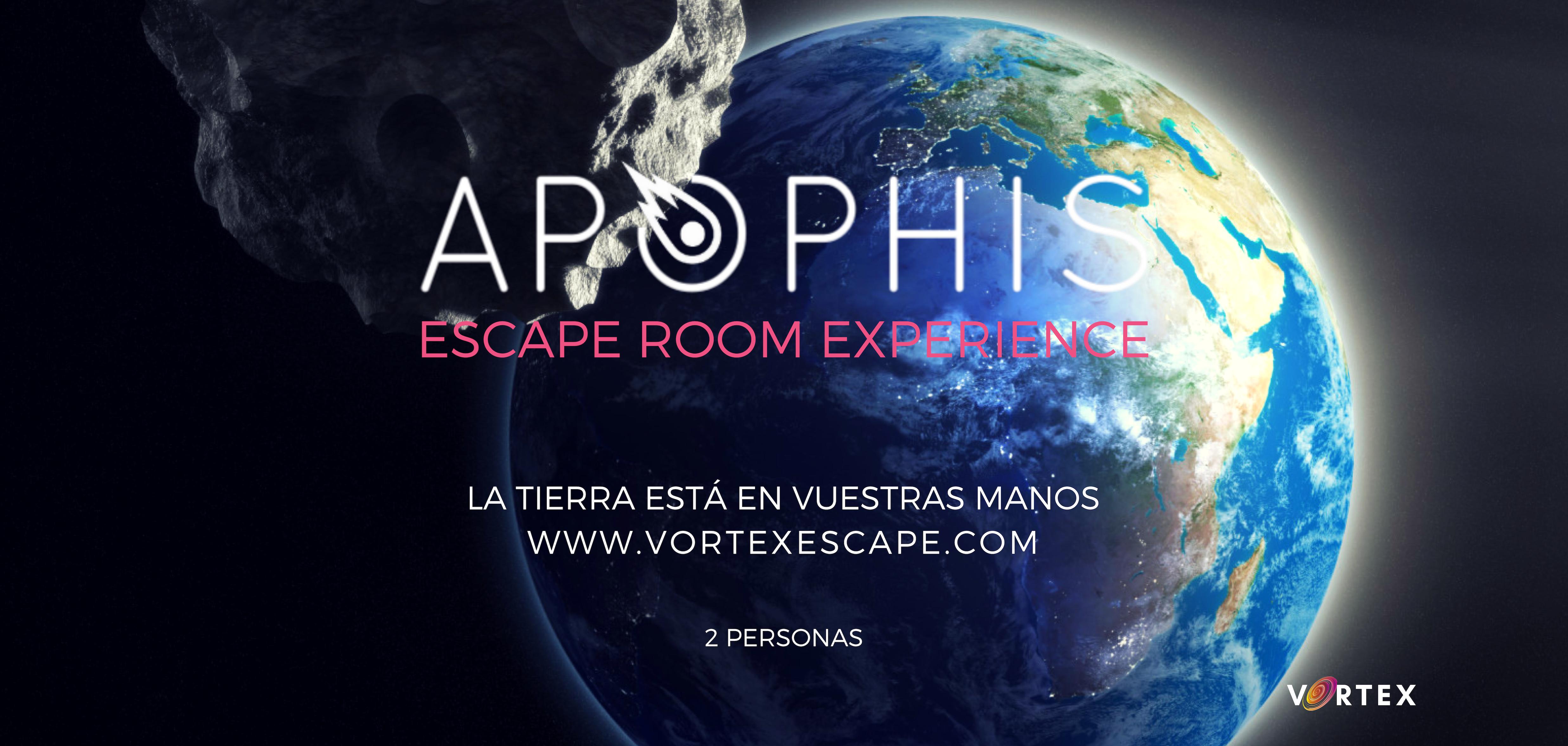 ▷ Bono regalo para 2 jugadores APOPHIS ESCAPE ROOM en Terrassa